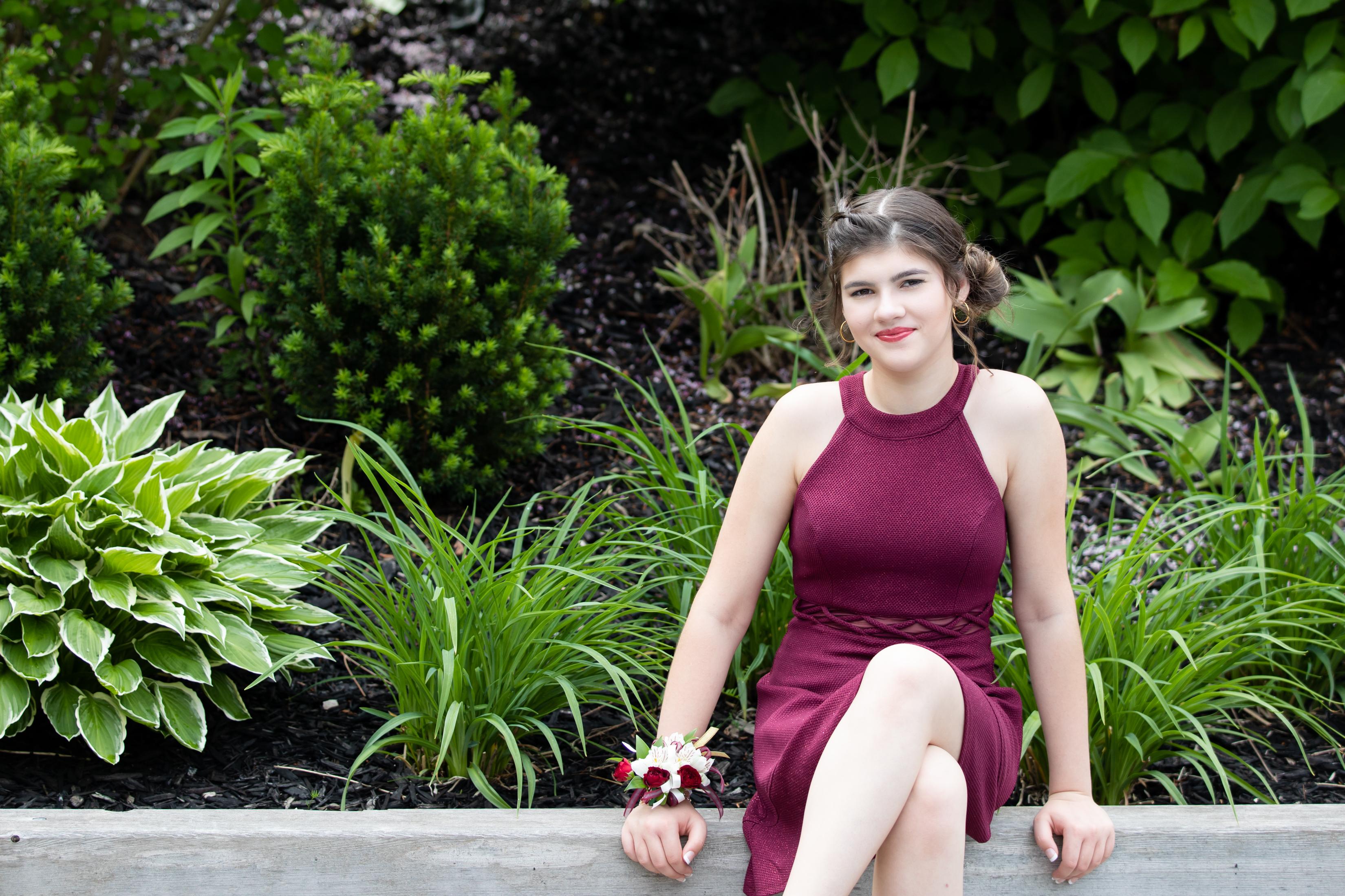Hayley Grad 2020_Allison Clark Photograp