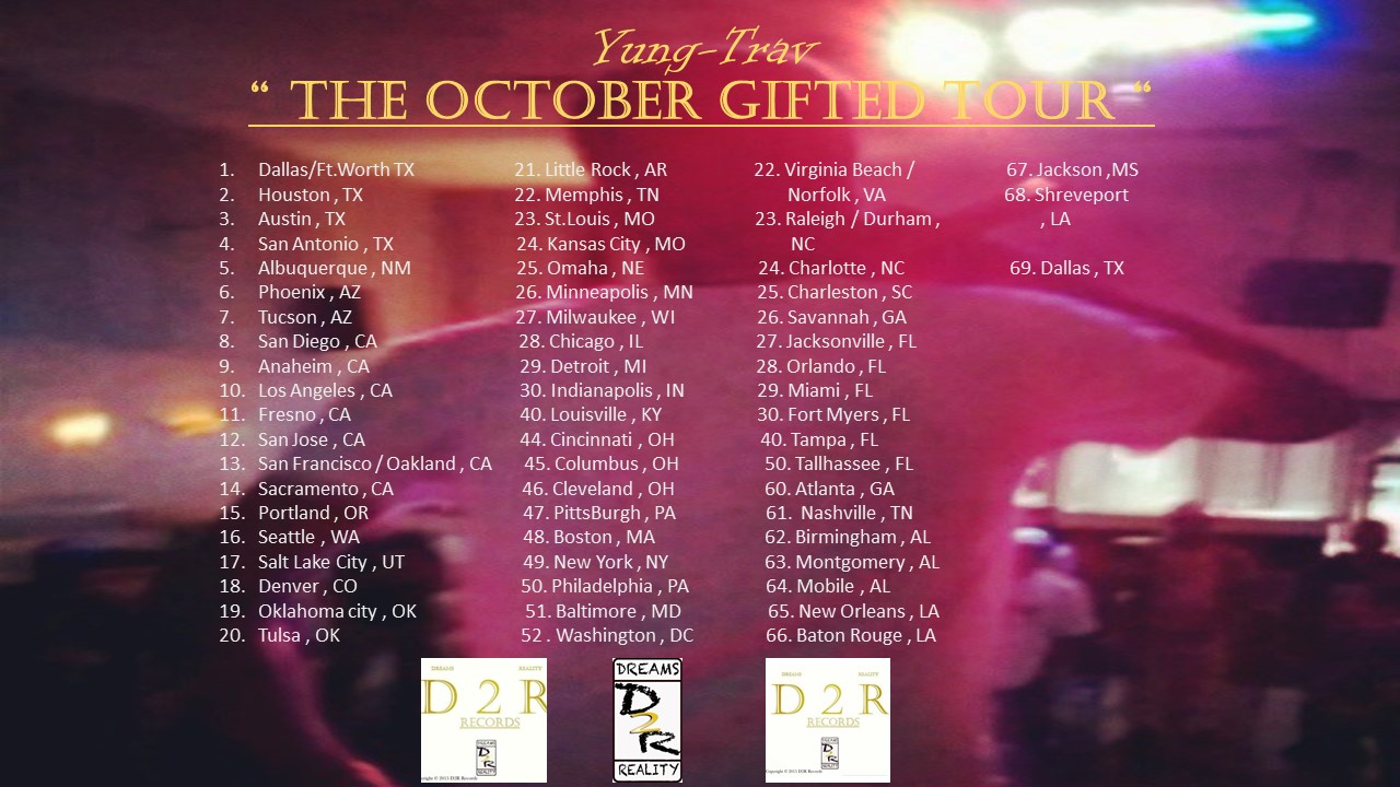 The October Gifted Tour