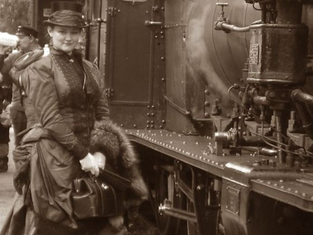 Not for sissies: Train travel in the 1850s
