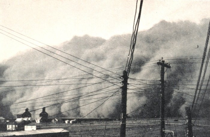 Dust storm, Dust Bowl 1930s, Connie Lacy author
