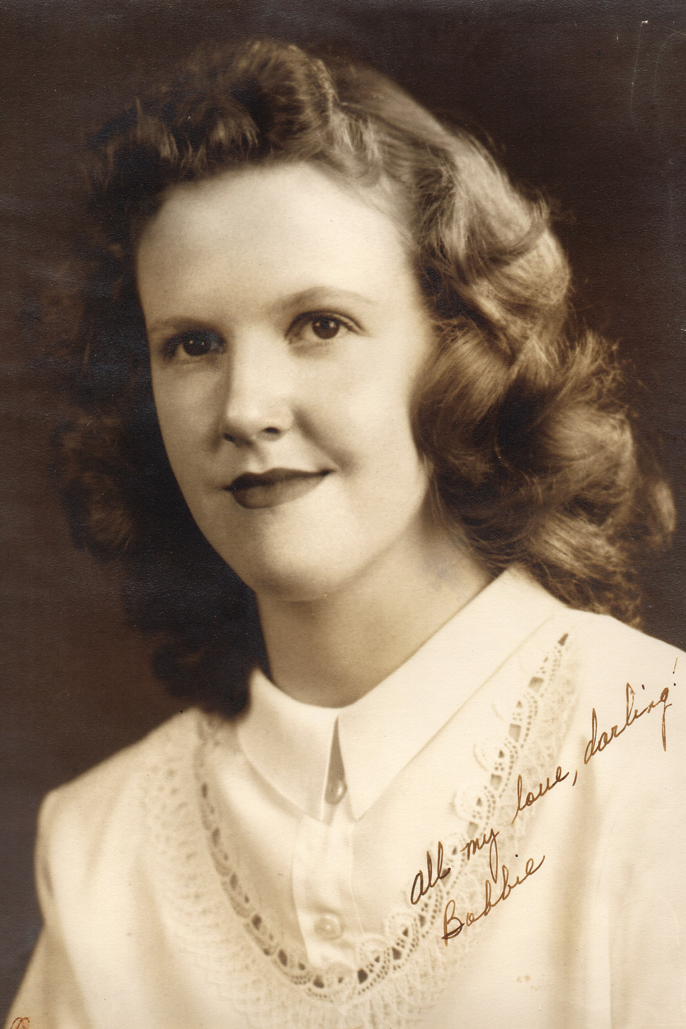 Bobbie Dudley, mother of author Connie Lacy