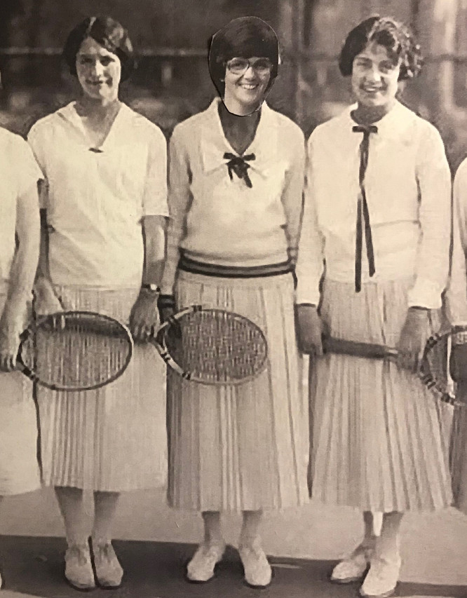 Connie Tennis outfits1930