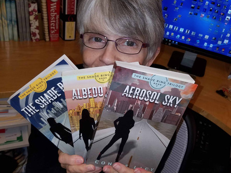 An easy riddle: when is an author's fifth book also her third book?