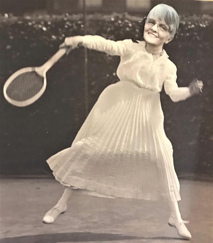 Connie Tennis 1918
