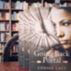 The Going Back Portal for sale at Eagle Eye Books, Decatur, GA