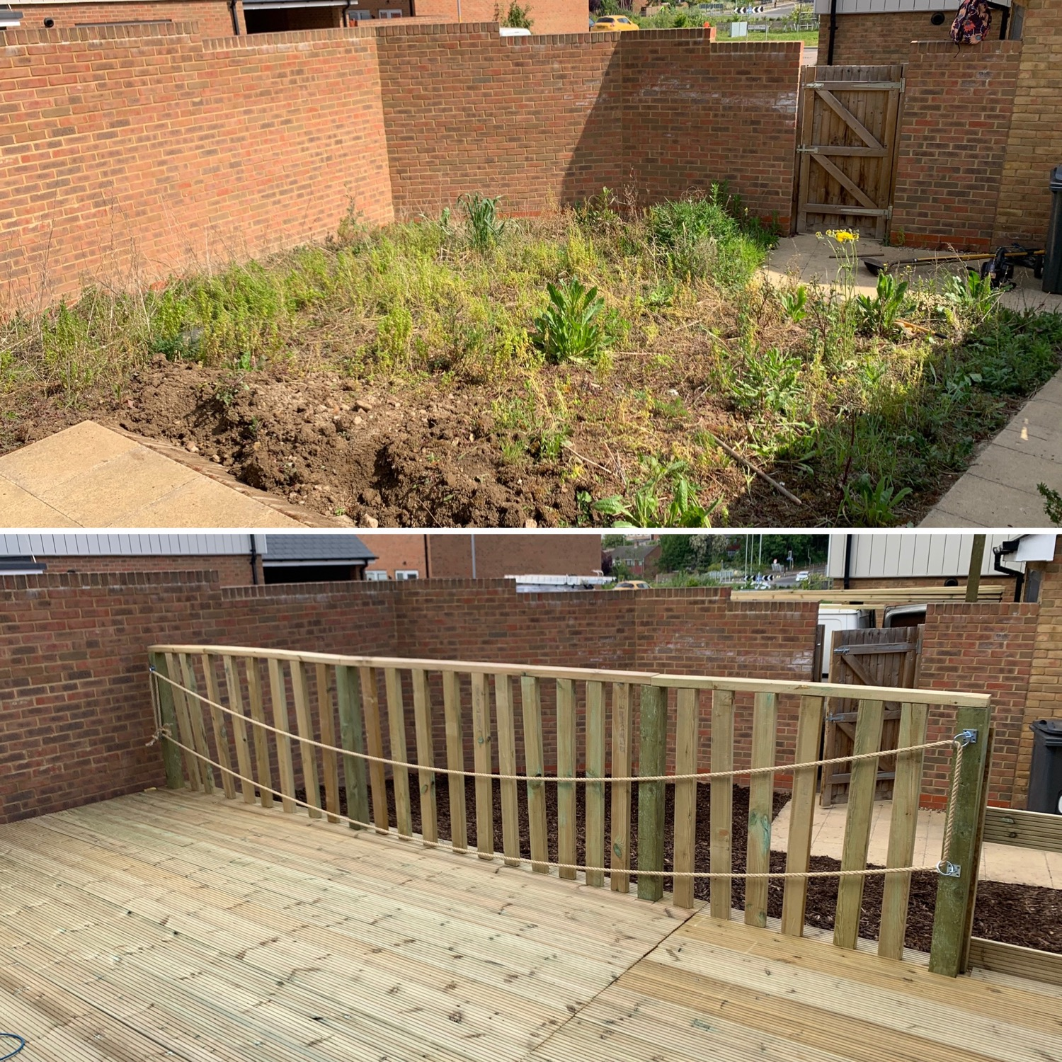 decking supply and fit any budget any location London kent Essex best landscaper near me