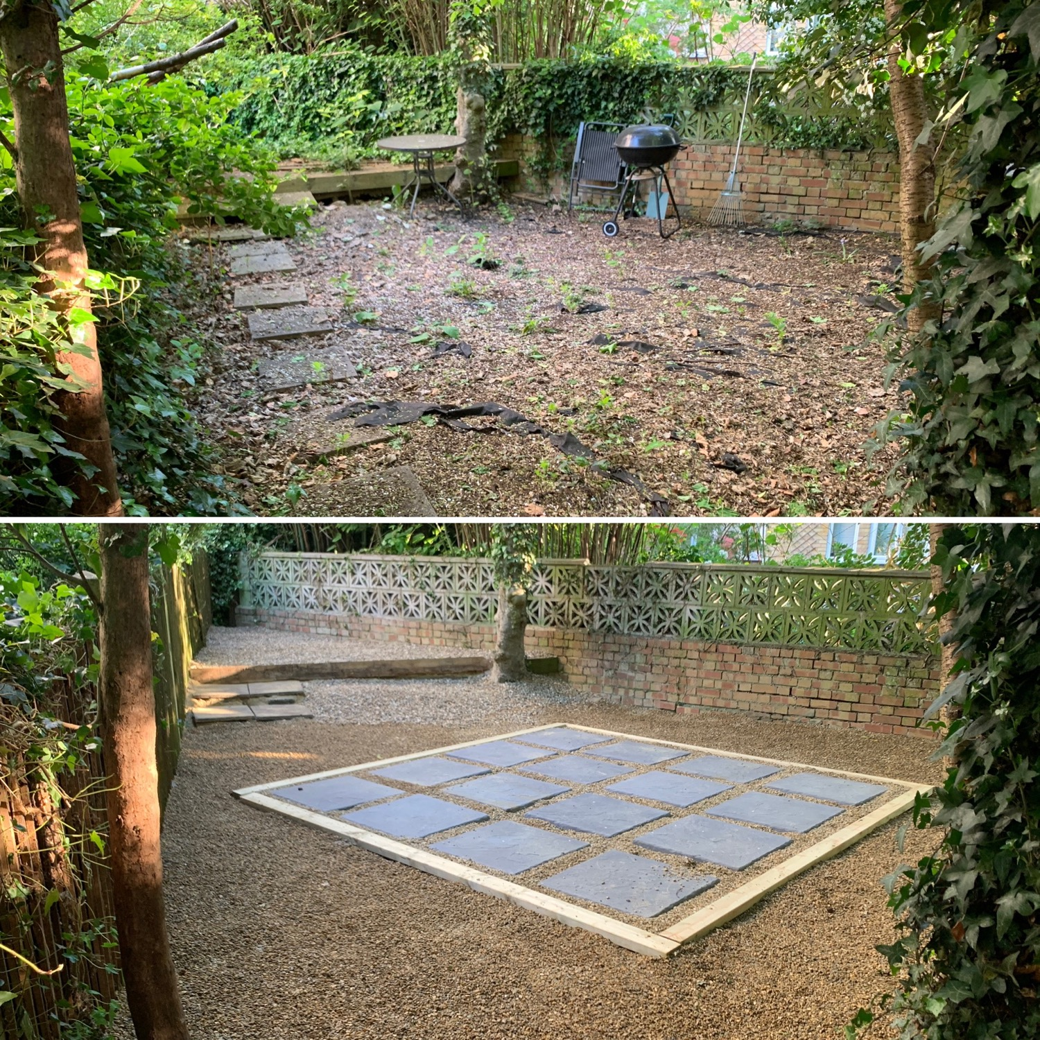 patio slab installation pebbles best price guarantee landscapers in dartford kent London and Essex