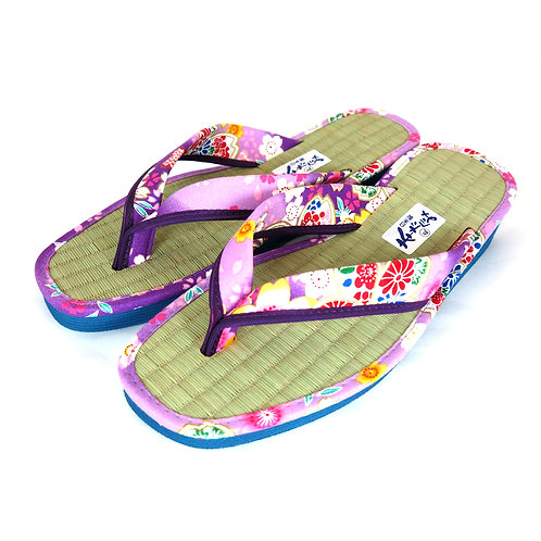 Sandales  Japonaises  Zouri Femme n°82 Violet