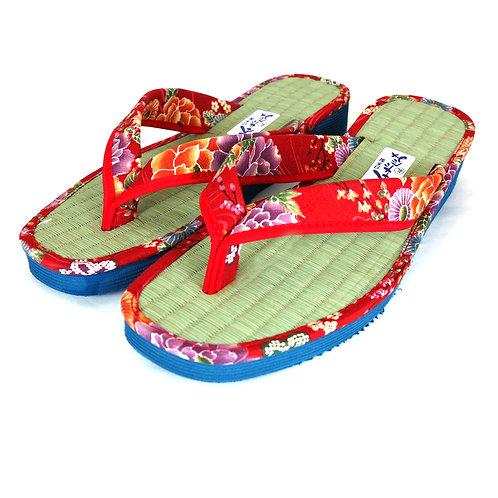 Sandales  Japonaises  Zouri Femme n°82 Rouge