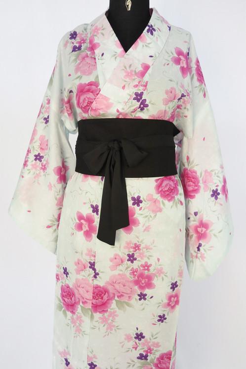 2f5ceabecb1e Yukata kimono femme traditionel en été, 100% coton.