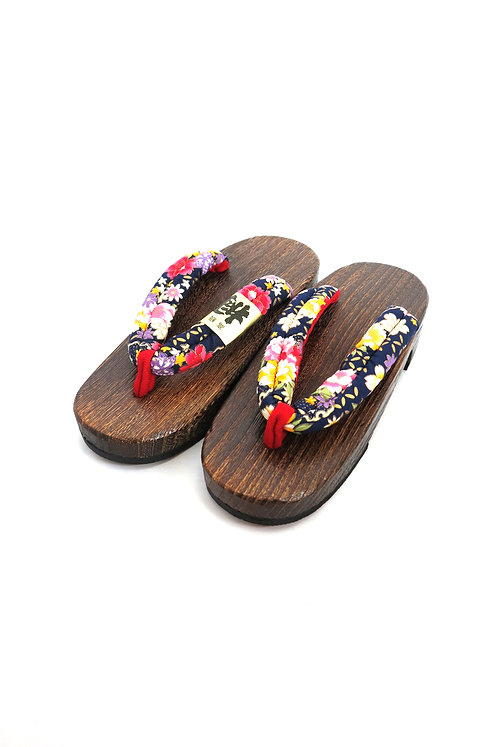 Sandales GETA bleu foncé