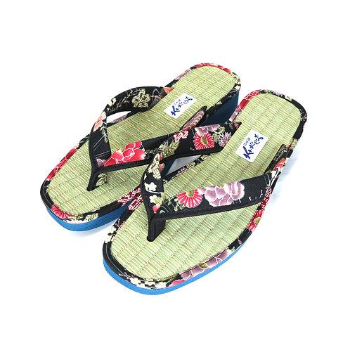 Sandales  Japonaises  Zouri Femme n°82 Noir