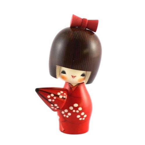 """KOKESHI poupée fille """"Amayadori"""""""