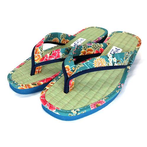 Sandales  Japonaises  Zouri Femme n°82 Bleu Clair