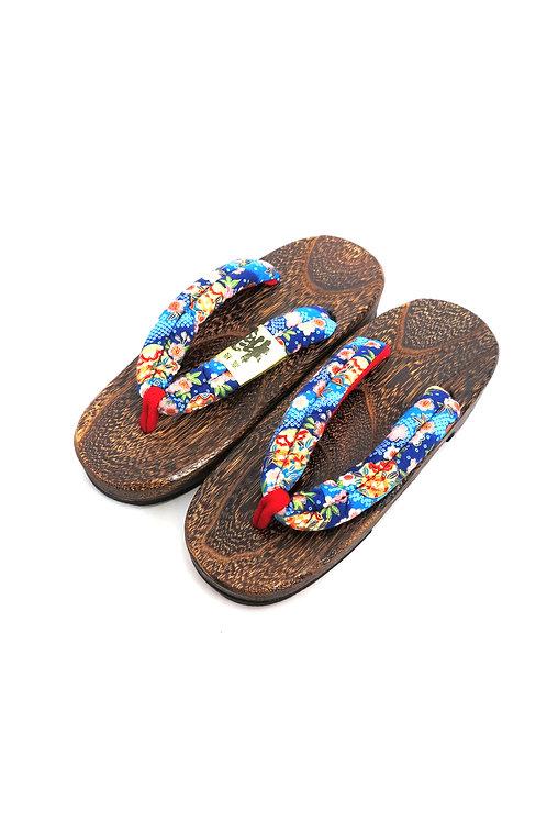 Sandales GETA bleu