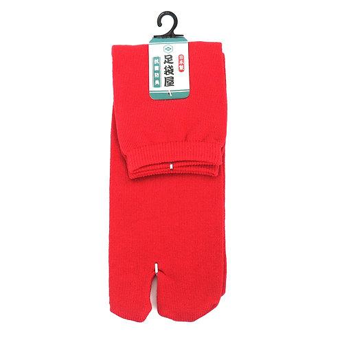 copie de Chaussettes longues TABI rouge- Taille 40-44