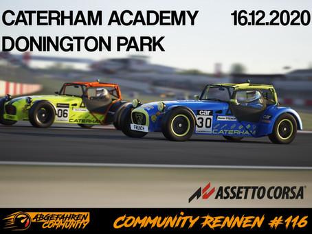 CR #116 | Caterham Acadamy @ Donington Park National | 16.12.2020