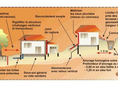 Zones de retrait-gonflement des argiles : un arrêté fixe les techniques de construction à respecter