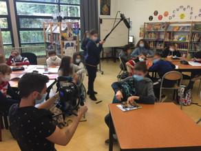 En action : Réalisation d'un film sur le harcèlement avec une classe de 5e