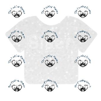 Siser Glitter HTV - White