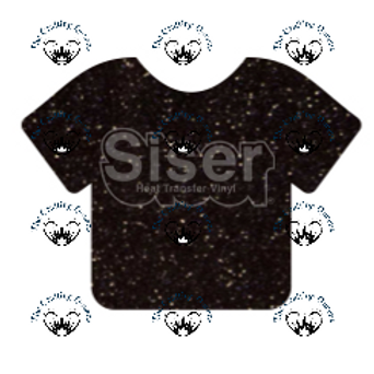 Siser Glitter HTV - Black
