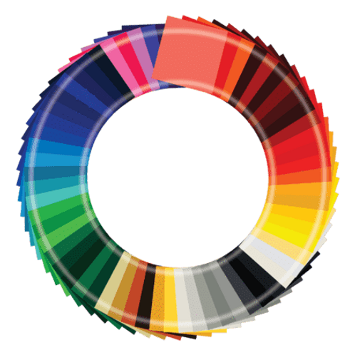 """Oracal 651 Starter Pack - 65 Colours - 12""""X12"""" Sheets"""