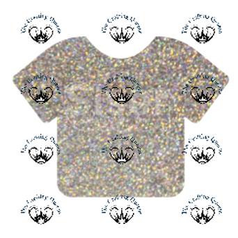 Siser Glitter HTV -Silver Confetti