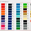 """Thumbnail: Oracal 651 Starter Pack - 65 Colours - 12""""X12"""" Sheets"""