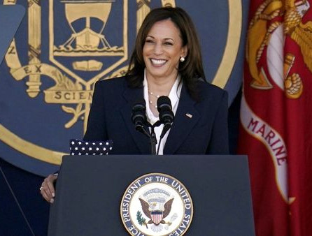 #Video:  Vice President became first woman to deliver commence speech at the Naval Academy