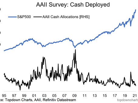 AAII Asset Allocation Survey - Deploy the Cash... (or not?)