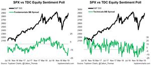 equity sentiment survey - technicals vs fundamentals