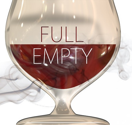 Are you going into the New Year with your glass half full?