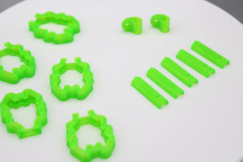 """Nemesis HD MIcro 3"""" 3D Print Set"""