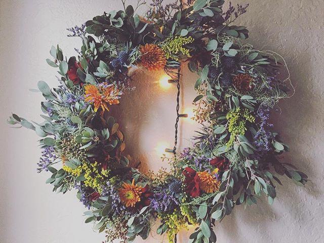 Summer Inspired Florals - Wreath Making