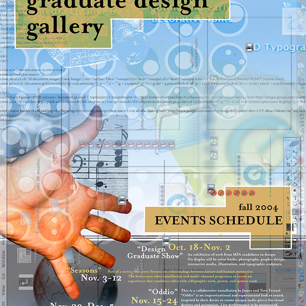 Design Gallery Poster