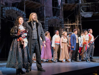 Jean Valjean and Cosette  OPEN BBB's 50th SEASON Its Grande - an Impressive