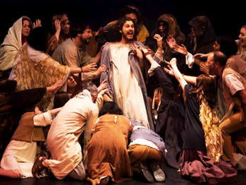 THE COMPELLING NIKITA BURSHTEYN IS JESUS AND THE CAST OF JCS BRING A TRADITIONAL LOOK TO THE ANDREW