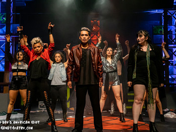 AMERICAN IDIOT CONTINUES TO ENERGIZE THE BAY AREA AND LEFT-HAND THEATRE CO IS PURE PUNK AND RAGE