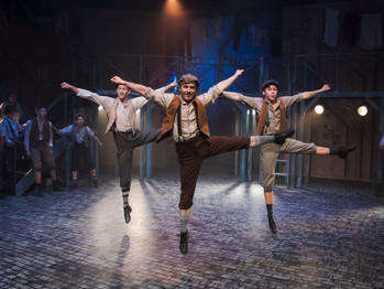 GET YOUR PAPES AND JOIN THE STRIKE, AS HILLBARN THEATRE OPENS NEWSIES FOR THE HOLIDAYS