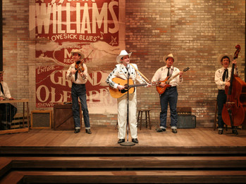 DOUGLAS MORRISSON THEATRE STAGES HANK WILLIAMS: LOST HIGHWAY