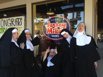 TRI VALLEY REP has a NUNSENSE Benefit variety show for the Sisters.