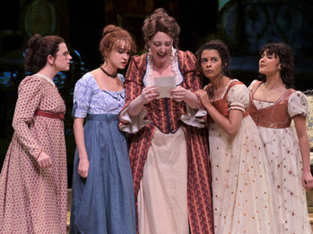 JANE AUSTEN BRINGS HOLIDAY CHEER TO THEATREWORKS AS THE BENNET FAMILY CELEBRATES THE SEASON