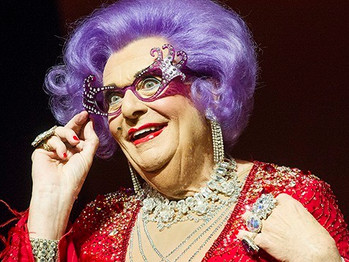 AT 81 BARRY HUMPHRIE STILL ROCKS AS DAME EDNA
