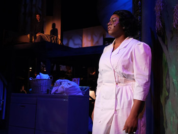 16 FEET BELOW THE VICTORIA 'CAROLINE OR CHANGE' IS A POWERFUL MUSICAL BY TONY KUSHNER.