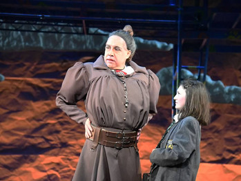 TRUCHBULL AND MATILDA ARE A BLAST OF NAUGHTY FUN AT CCMT