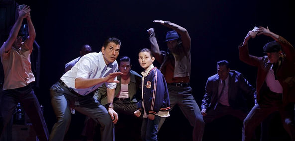 A BOY WHO KNEW TOO MUCH IS CHAZZ PALMINTERI'S LIKABLE 'BRONX