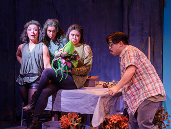 THE FLOWER SHOP IS OPEN AT HILLBARN THEATRE'S  ALL GREEN PRODUCTION OF GORE, BLOOD AND A KILLER PLAN