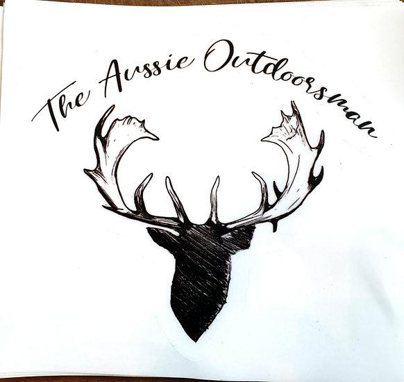 Aussie Outdoorsman Sticker