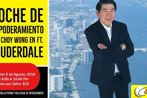 NOCHE DE EMPODERAMIENTO CON CHOY WONG