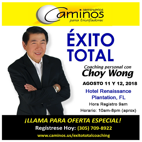 EXITO TOTAL COACHING FT. LAUDERDALE